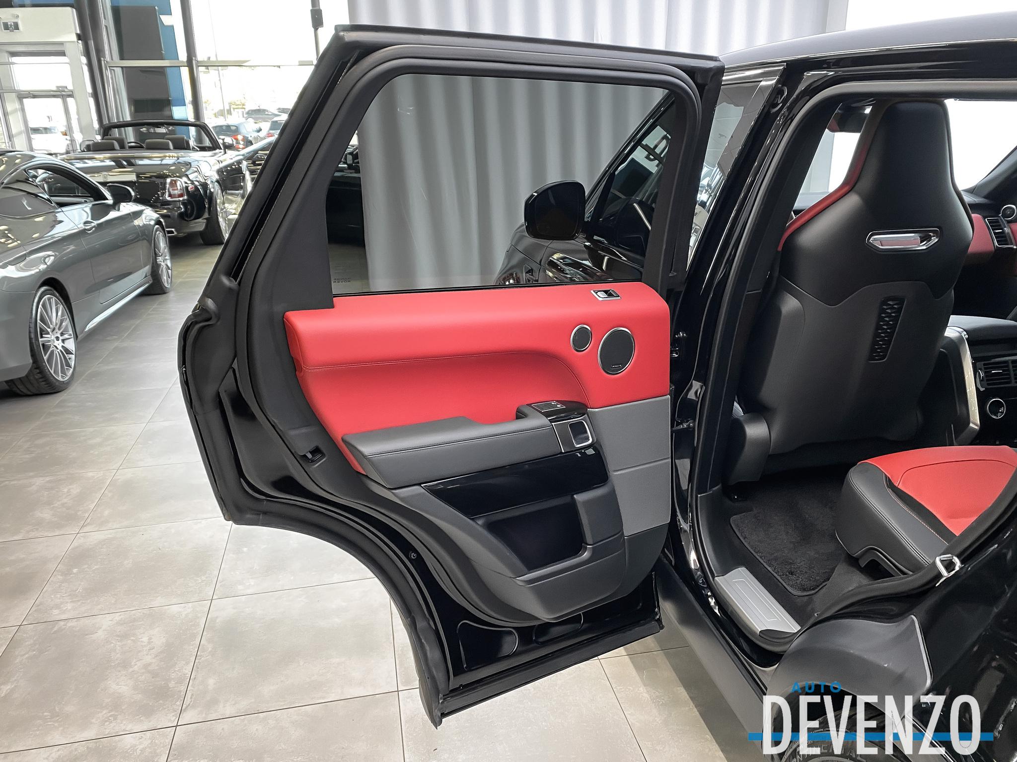 2020 Land Rover Range Rover Sport V8 Supercharged SVR 575HP Drive Pro Pack complet