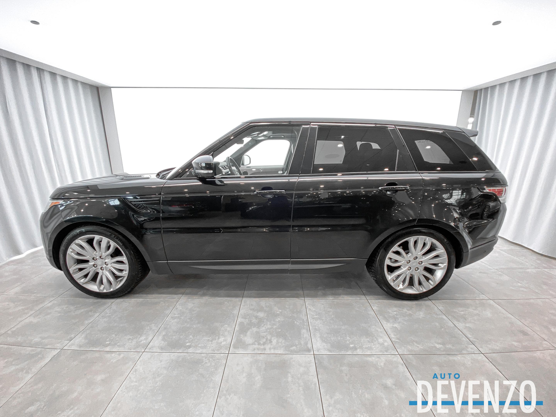 2017 Land Rover Range Rover Sport 4WD Td6 HSE Diesel Camera 360° / Jantes 21» complet