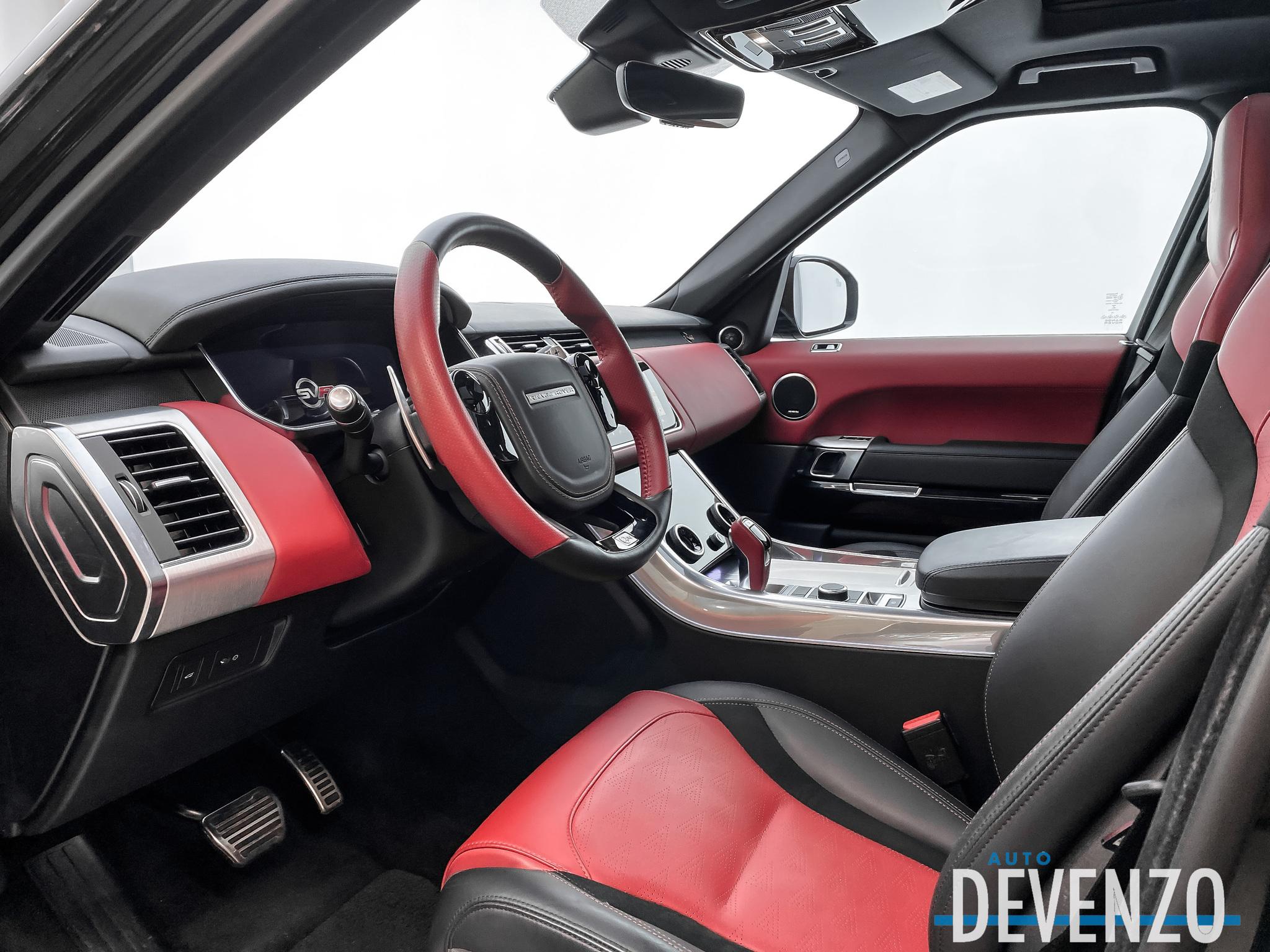 2020 Land Rover Range Rover Sport V8 Supercharged SVR 575HP complet