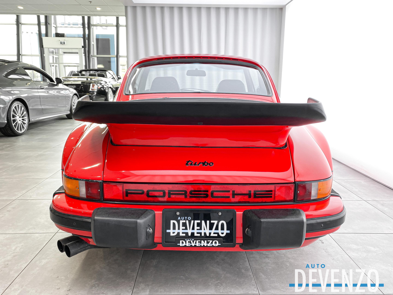 1985 Porsche 911 930 TURBO 3.3L 282HP FLAT SIX / BBS WHEELS complet