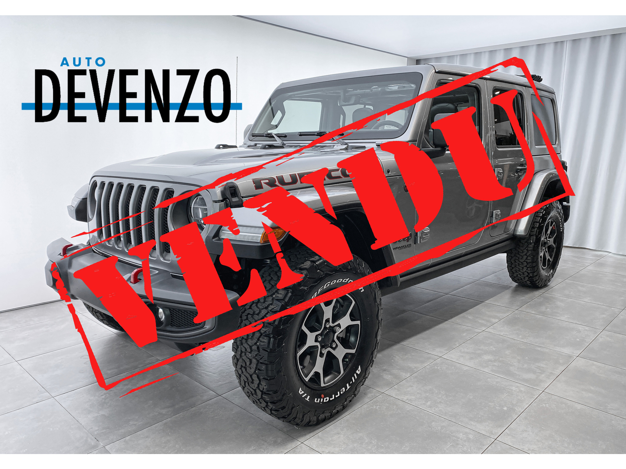 2021 Jeep Wrangler Unlimited Rubicon 4×4 Toit Panoramique SKY complet