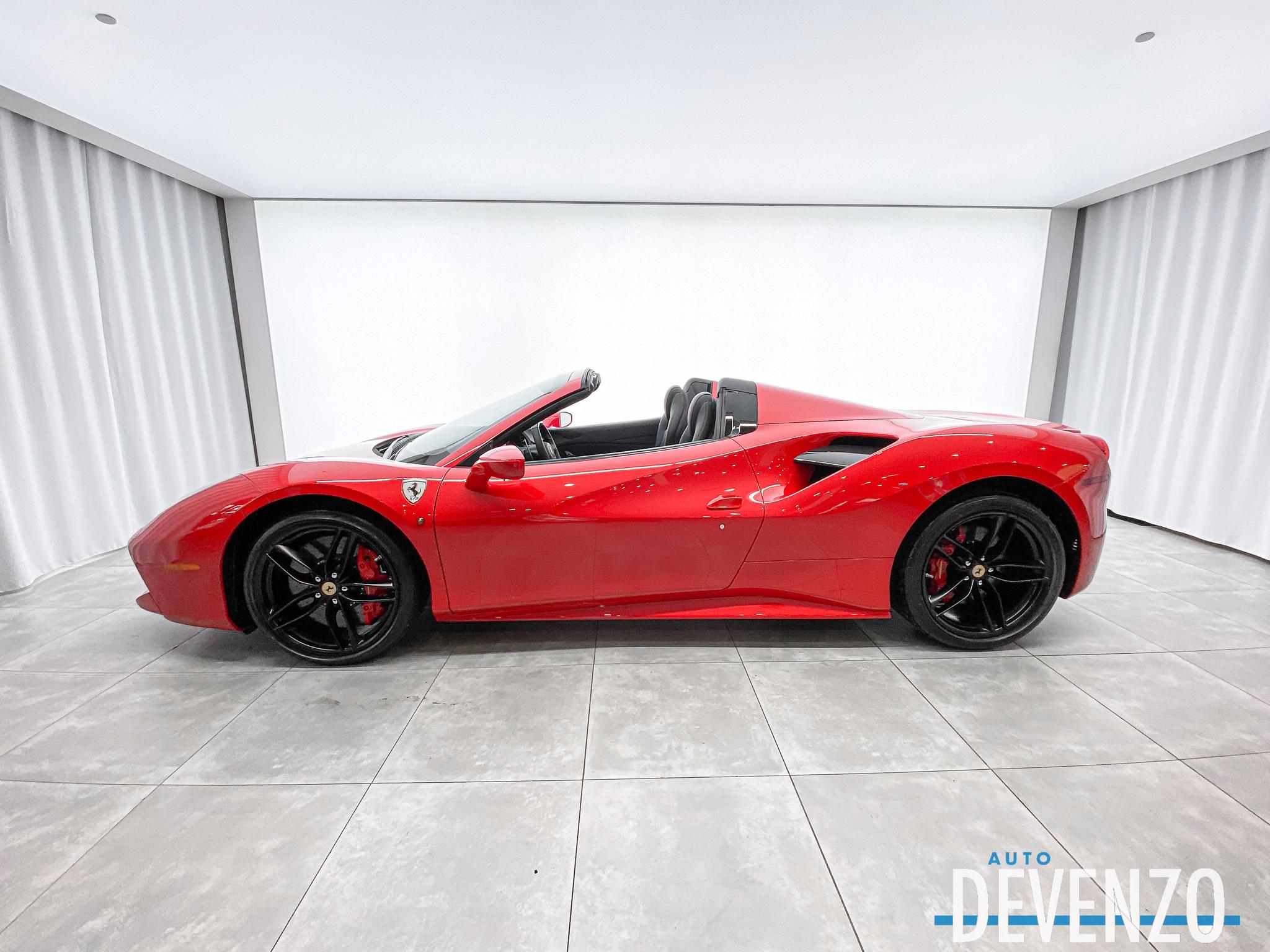 2019 Ferrari 488 Spider SPIDER SPORT EXHAUST / CARBON FIBER PACK complet