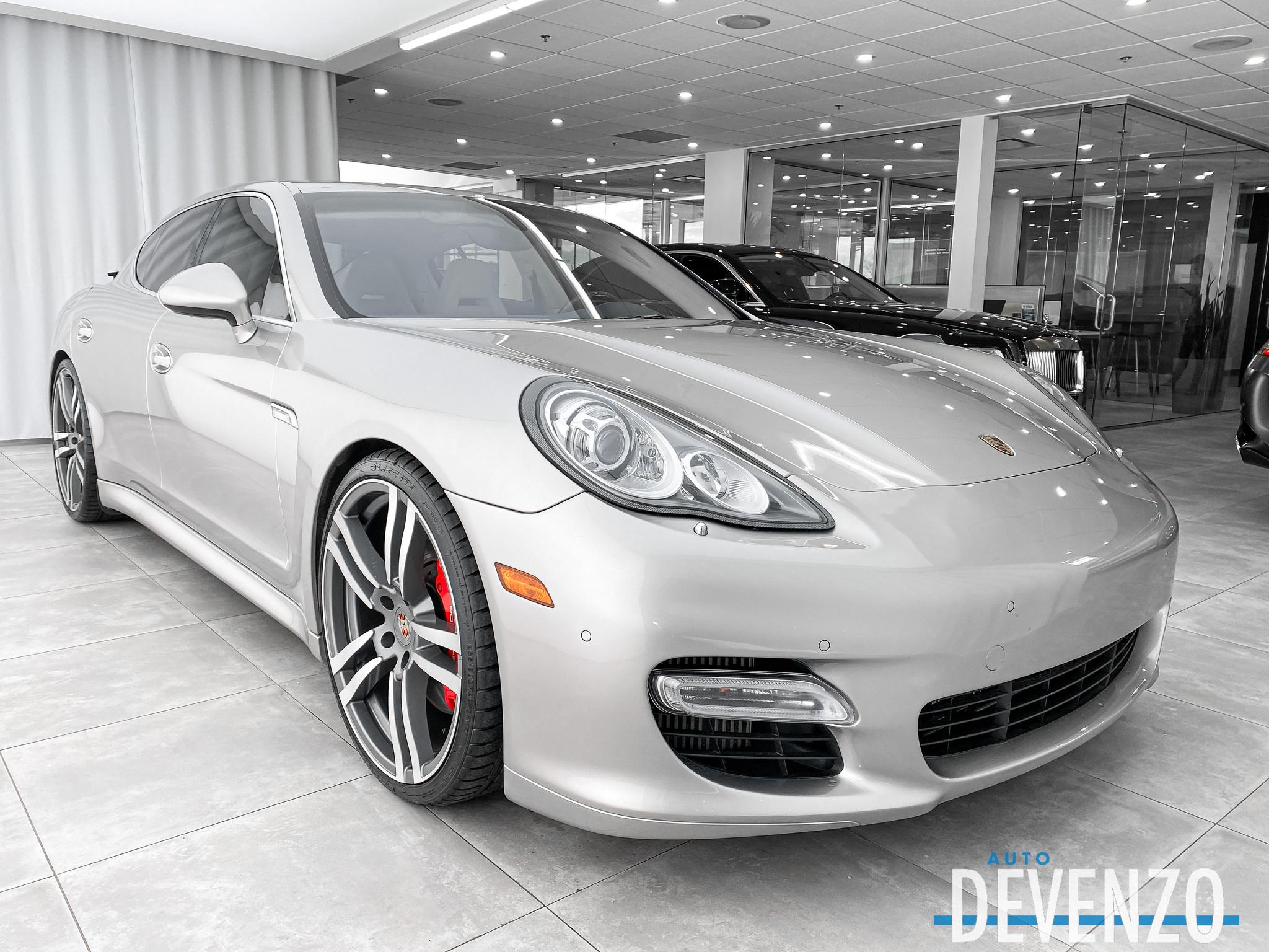 2010 Porsche Panamera HB Turbo 4.8L 500HP complet
