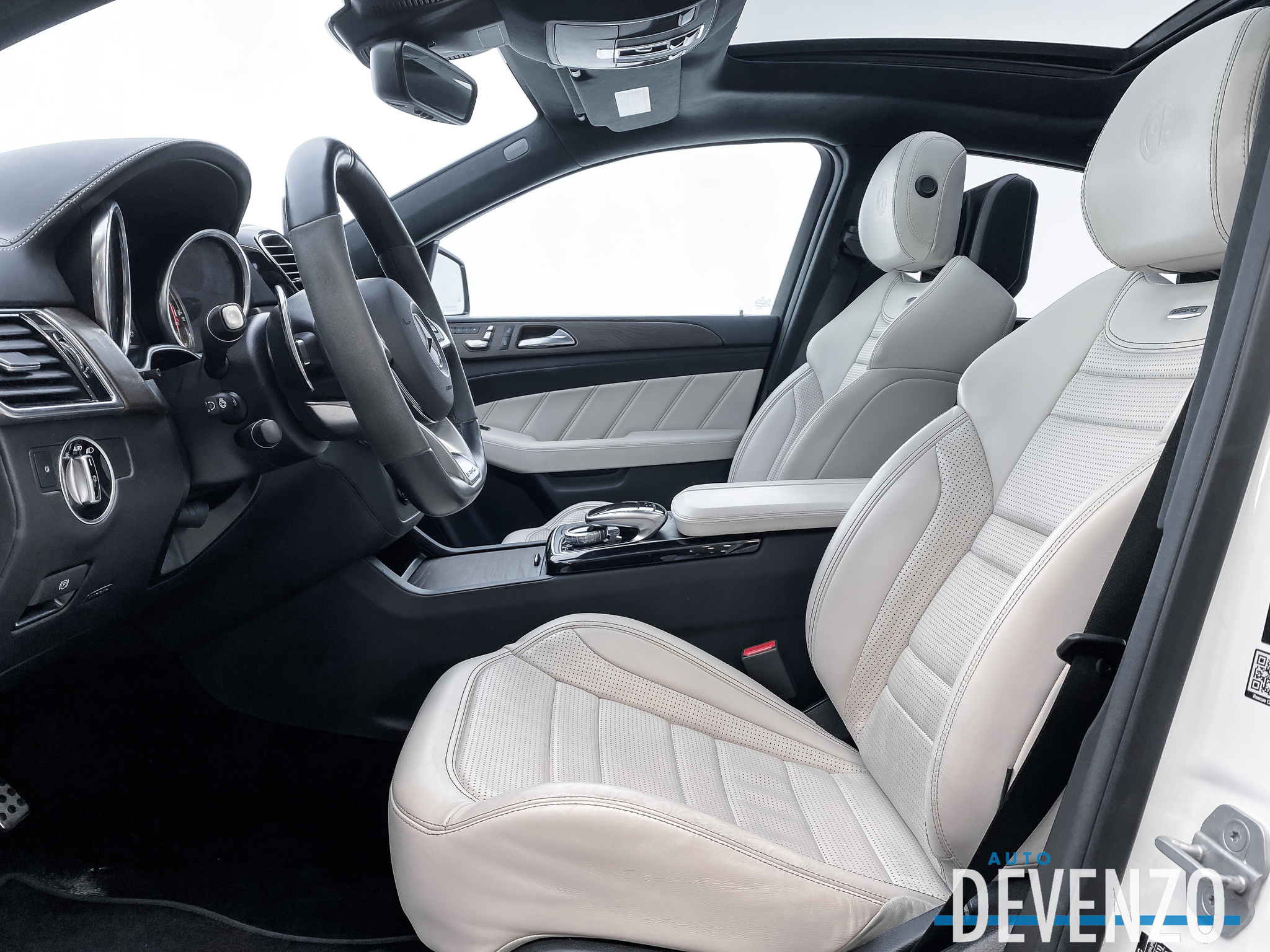 2018 Mercedes-Benz GLE-Class AMG GLE63 S 4MATIC Coupe DVD Entertainment complet