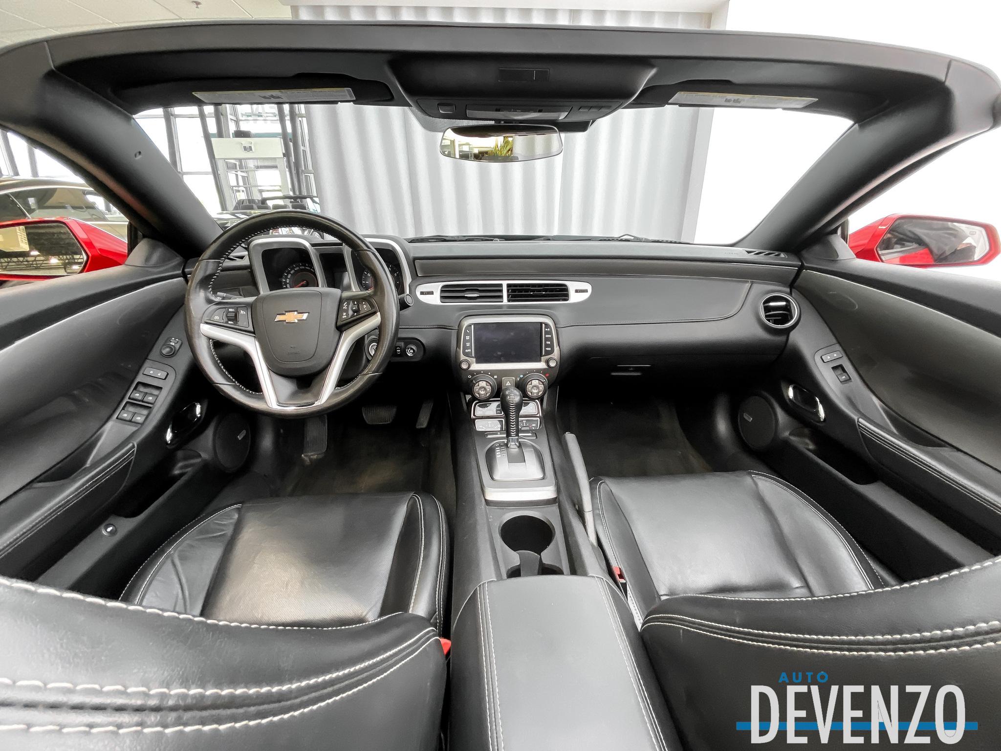 2013 Chevrolet Camaro RS 2LT CONVERTIBLE BLACK TRIM complet