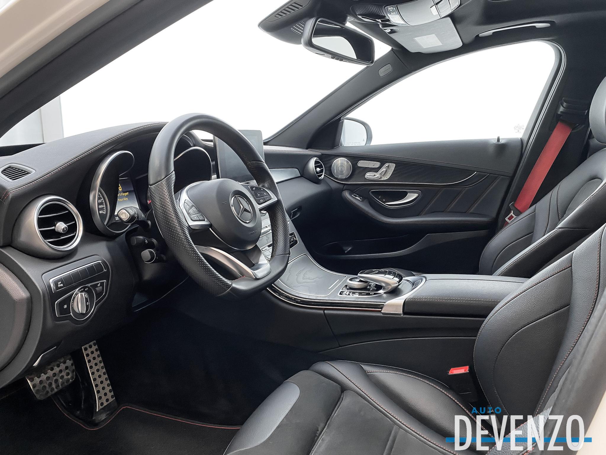 2017 Mercedes-Benz C-Class AMG C43 4MATIC complet