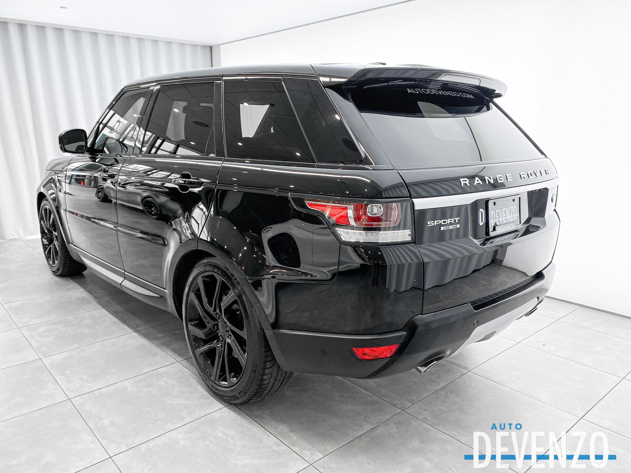 2016 Land Rover Range Rover Sport 4WD Td6 HSE Diesel complet
