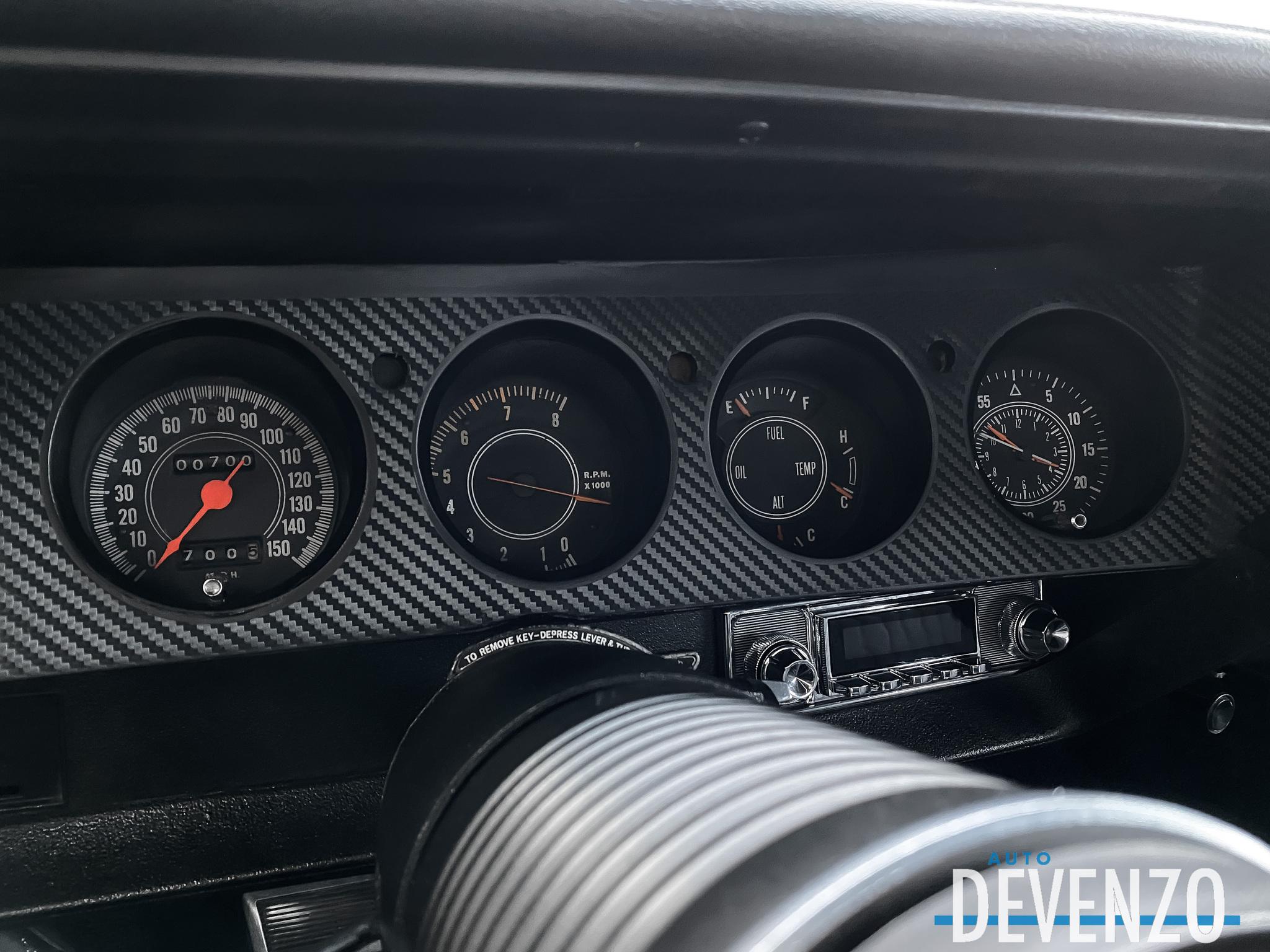 1972 Plymouth CUDA CUDA 340 MOTEUR 700 MILES RESTORATION COMPLETE complet