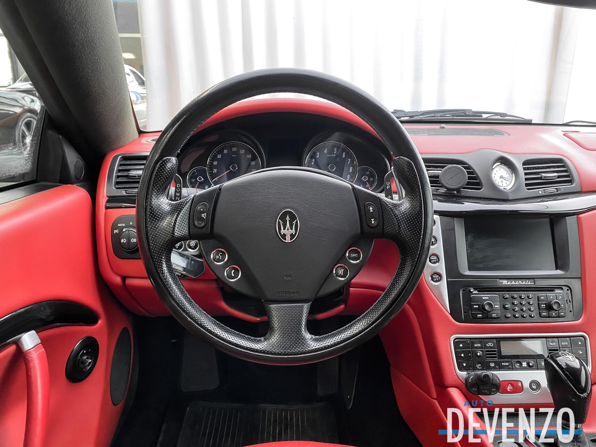 2008 Maserati GranTurismo 4.2L V8 COUPE BAS KILOMETRAGE complet