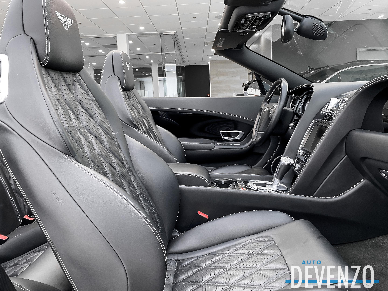 2014 Bentley Continental GTC GTC BLACK EDITION Convertible V8 S 500hp complet