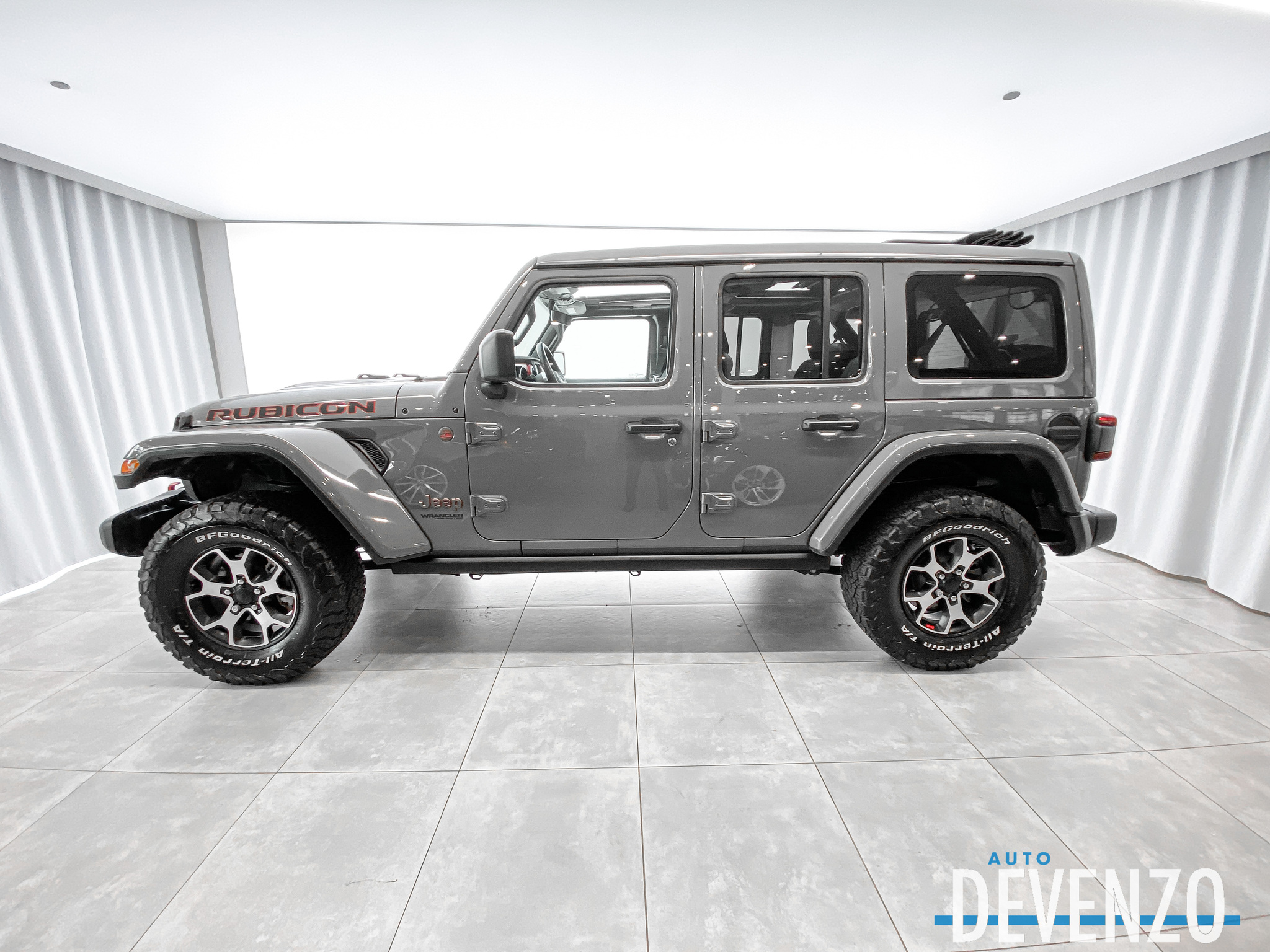2020 Jeep WRANGLER UNLIMITED Rubicon 4×4 CUIR NAVI SKY ROOF complet