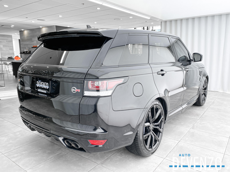 2018 Land Rover Range Rover Sport V8 Supercharged SVR 575HP complet