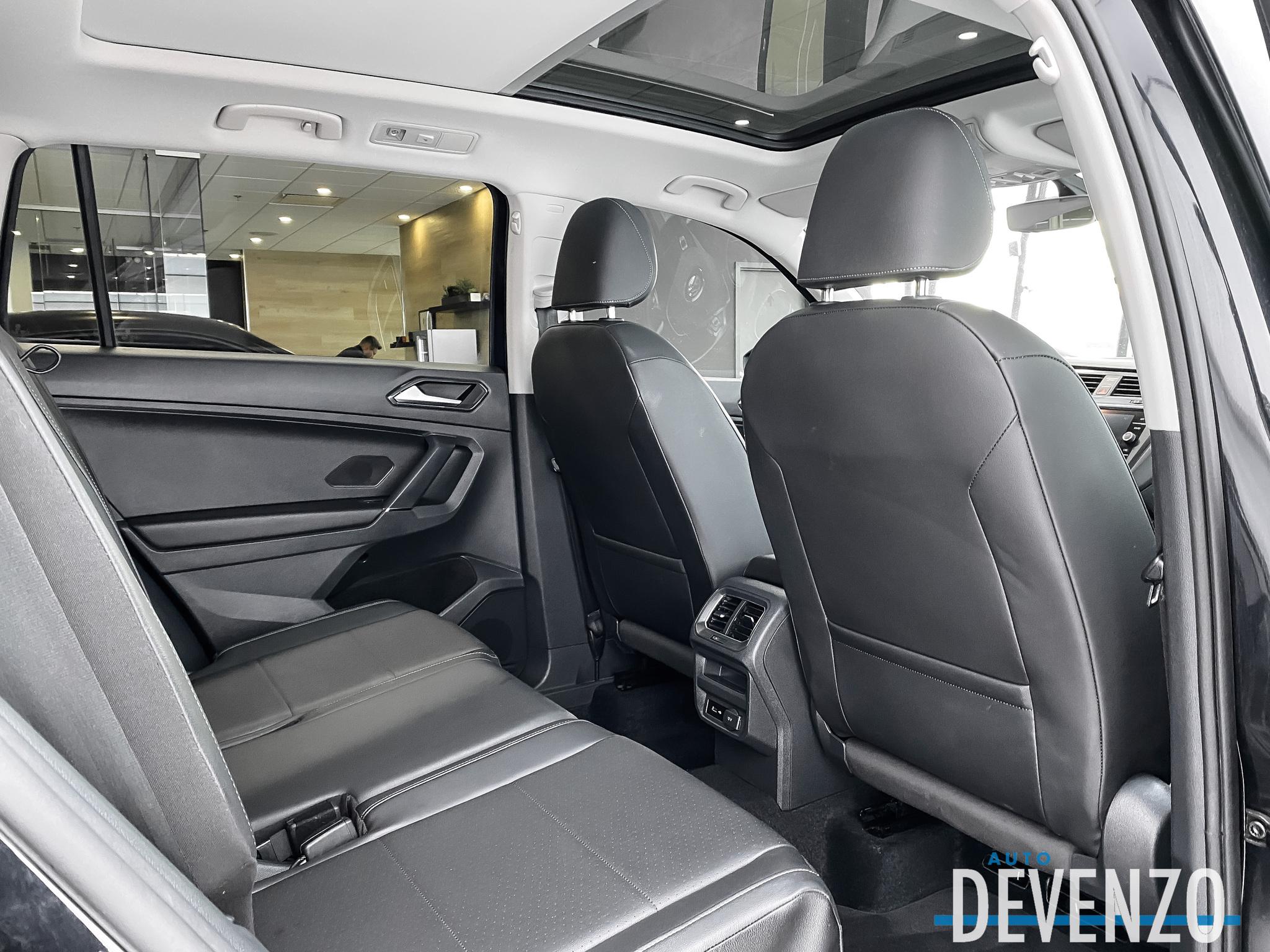 2018 Volkswagen Tiguan Comfortline 4MOTION Cuir / Toit Pano / Camera complet