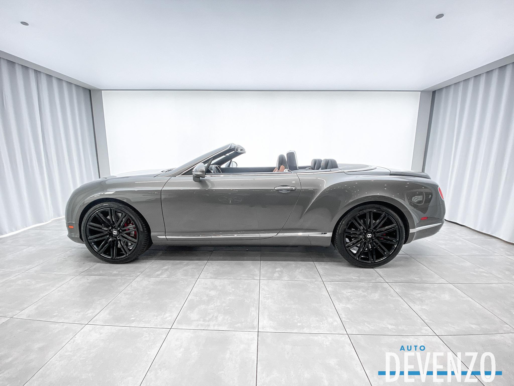 2014 Bentley Continental GT Speed GTC W12 CONVERTIBLE complet