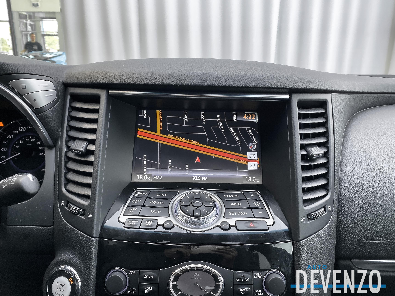 2017 Infiniti QX70 AWD S Sport 325hp NAVI / CAMERA 360 / BLACK PACK complet