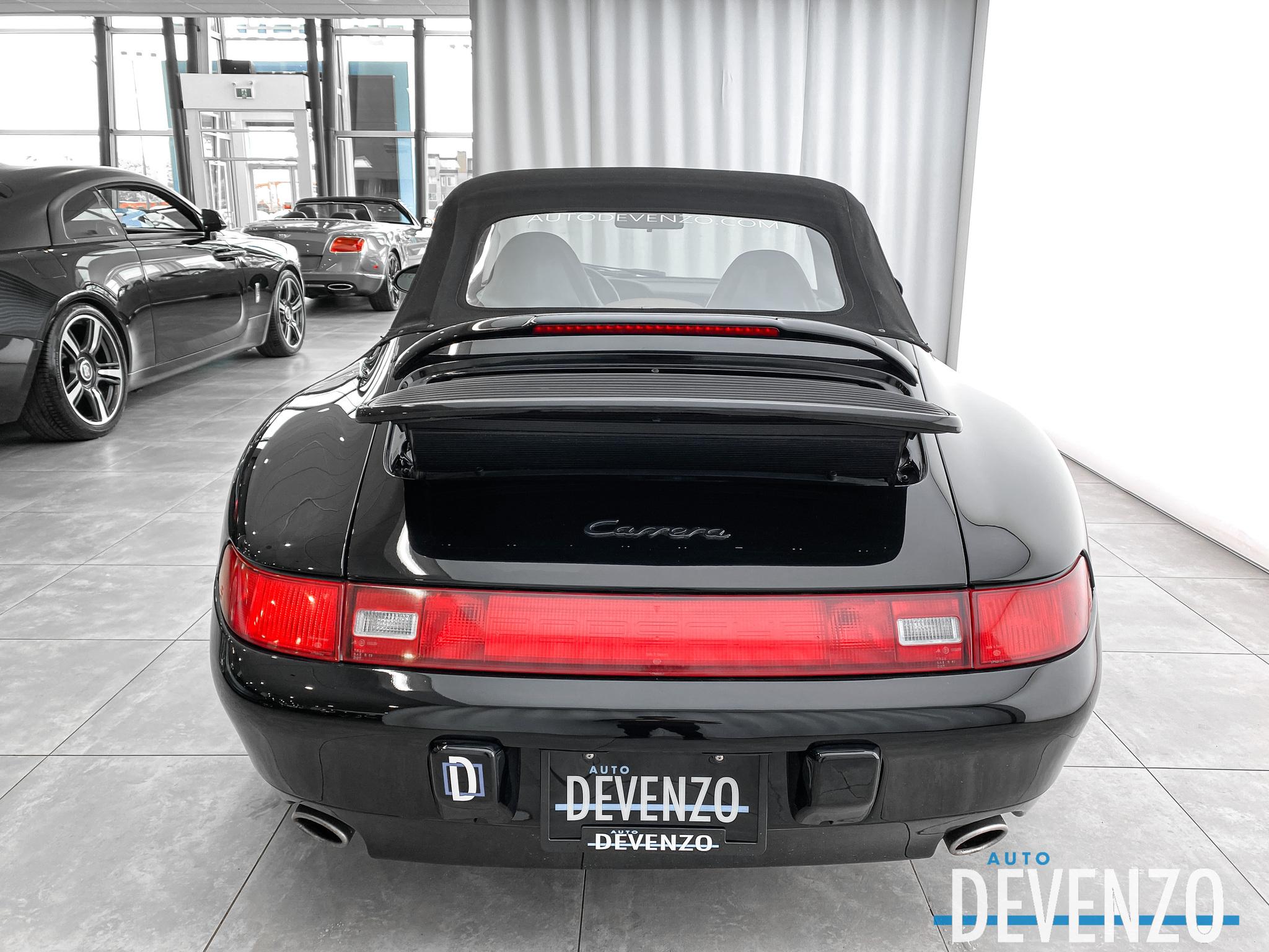 1995 Porsche 911 CARRERA 993 Cabriolet Carrera 6-Spd Manual complet