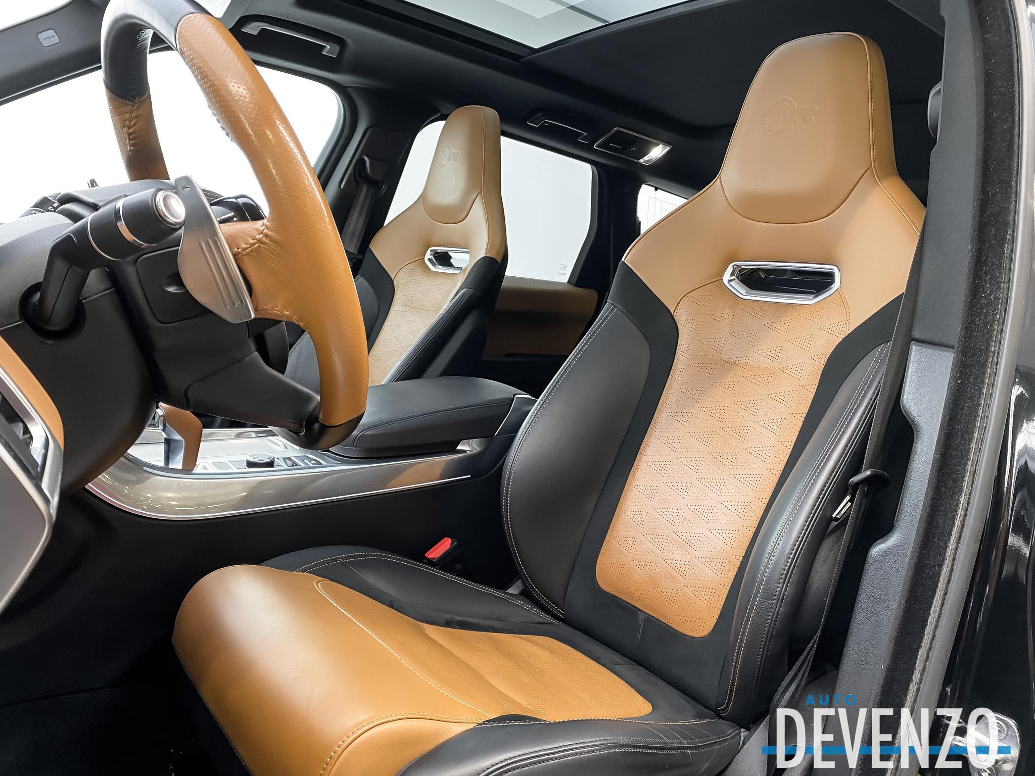 2018 Land Rover Range Rover Sport V8 Supercharged SVR Vintage Tan Leather WTY 05/22 complet