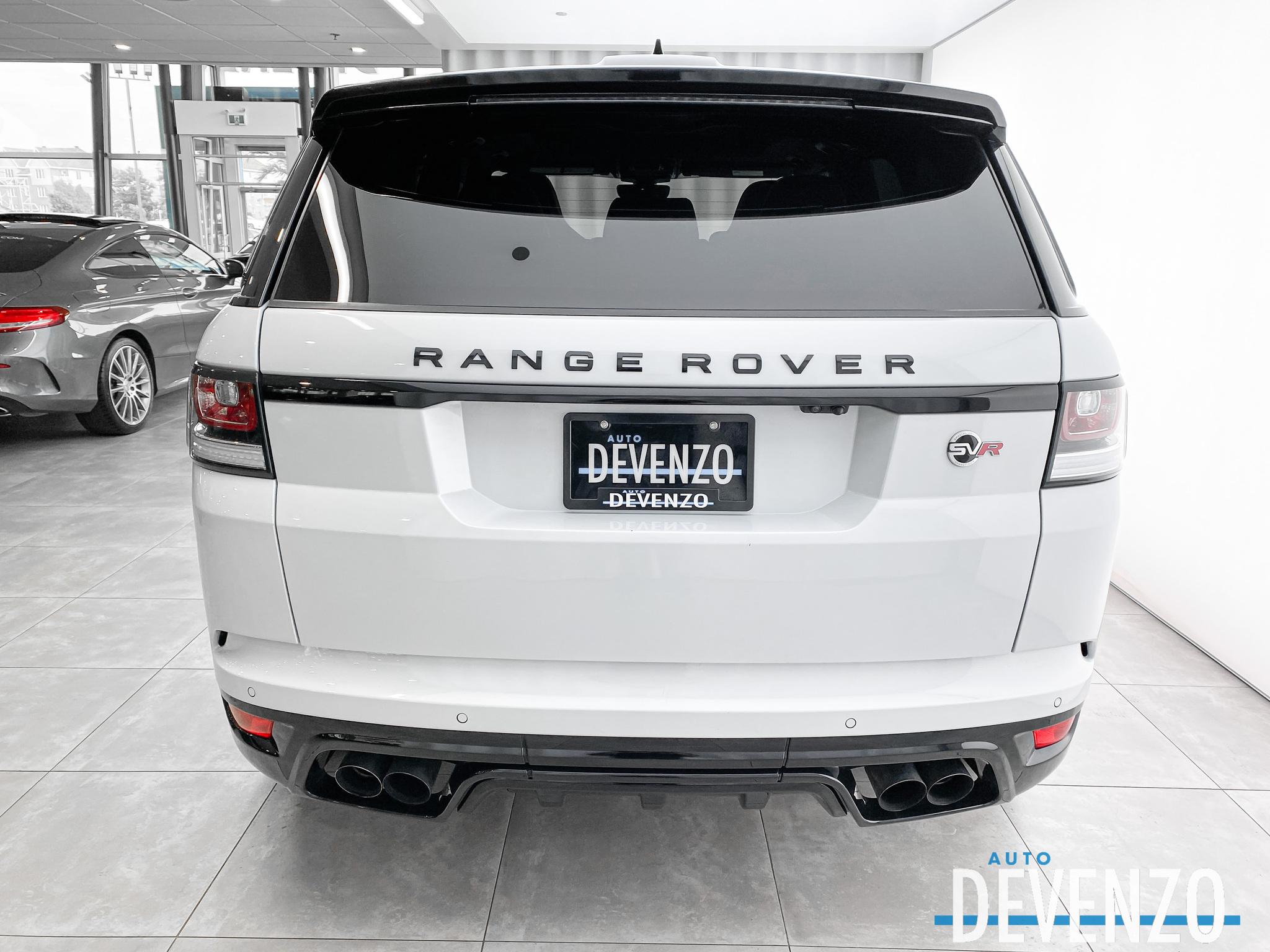 2017 Land Rover Range Rover Sport V8 Supercharged SVR 550HP complet