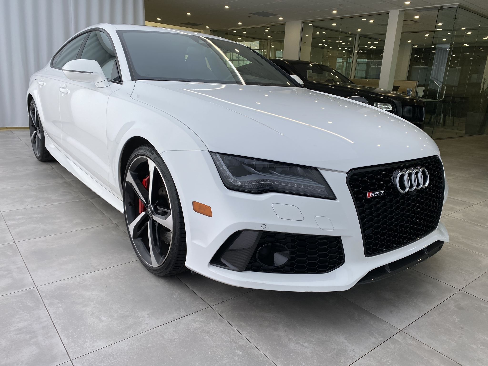 2015 Audi RS 7 RS7 QUATTRO 4.0T 560HP NIGHTVIEW CARBON OPTICS complet