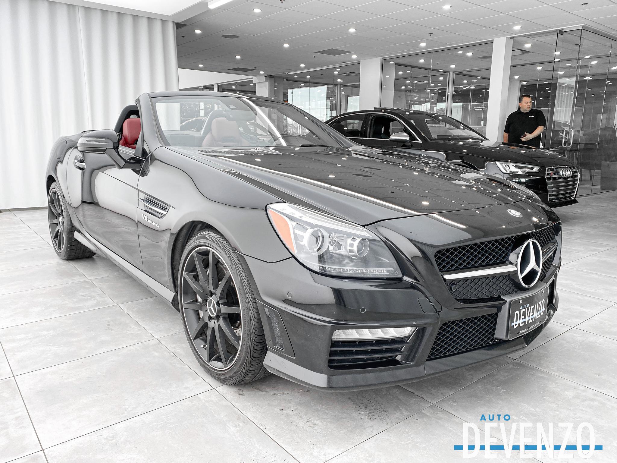 2015 Mercedes-Benz SLK-Class Roadster SLK55 AMG 415HP complet