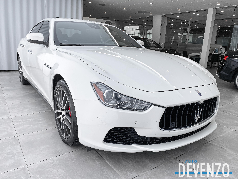 2017 Maserati Ghibli S Q4 3.0L 404HP Warranty 27/10/21 complet