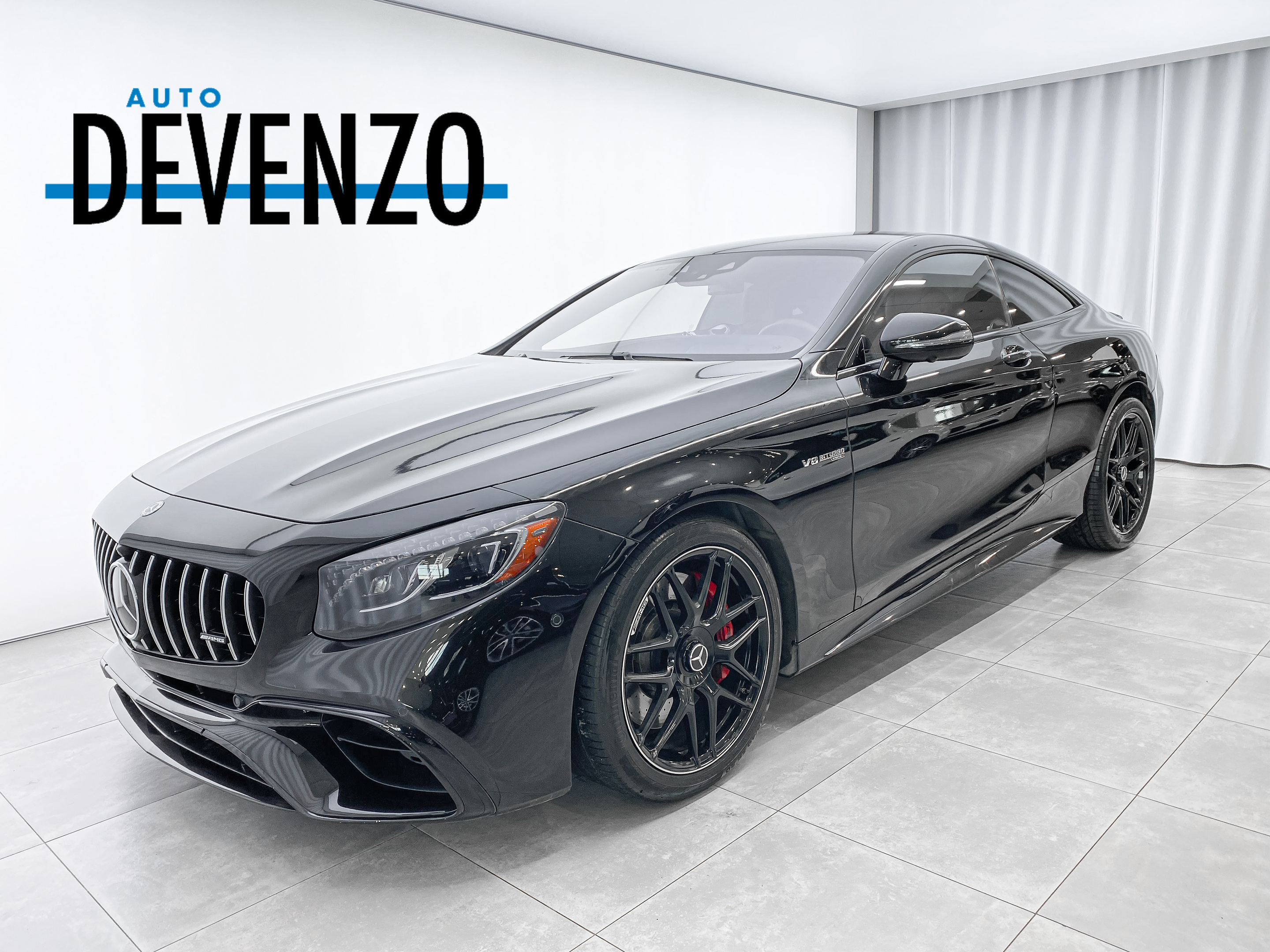 2018 Mercedes-Benz S-Class AMG S63 4MATIC+ Coupe Night Package / Designo complet