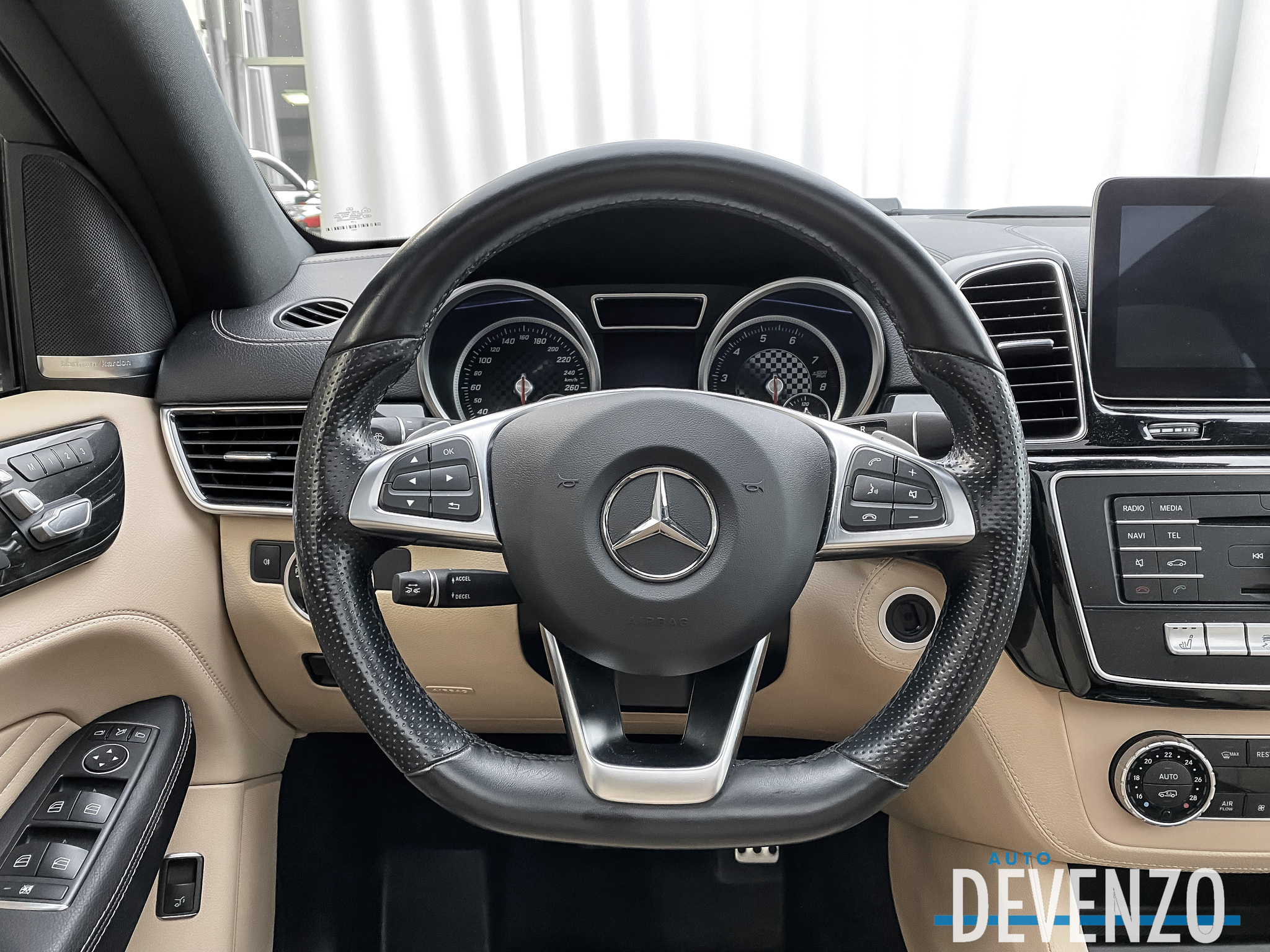2016 Mercedes-Benz GLE-Class 4MATIC GLE450 AMG COUPE complet