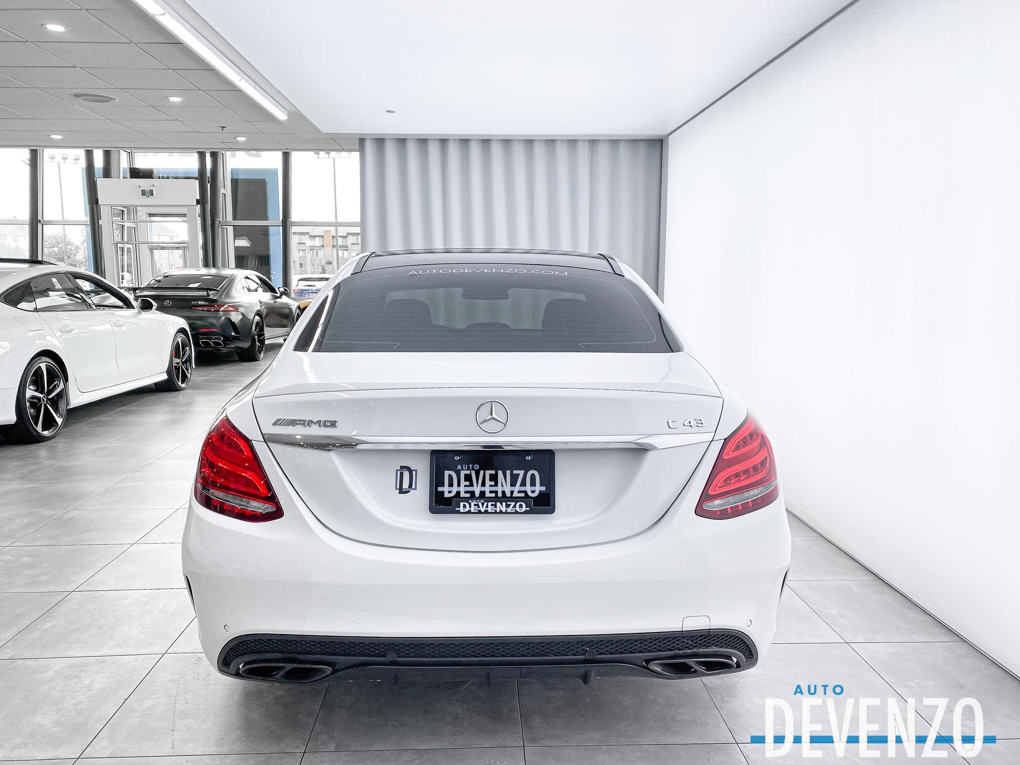 2018 Mercedes-Benz C-Class AMG C43 4MATIC INTELLIGENT DRIVE / NIGHT + DRIVERS complet