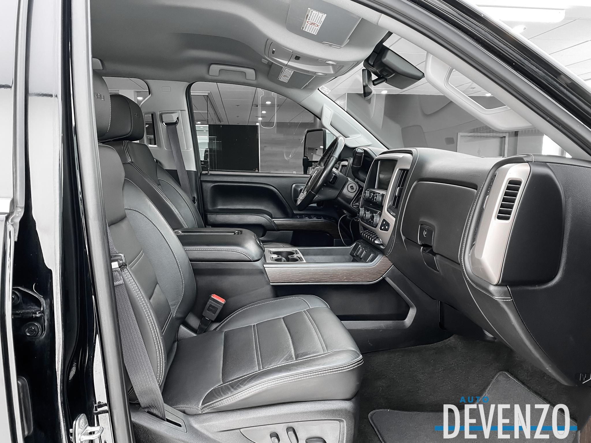 2017 GMC SIERRA 2500HD 4WD Crew Cab DENALI Duramax Diesel Lift Kit 6»' complet