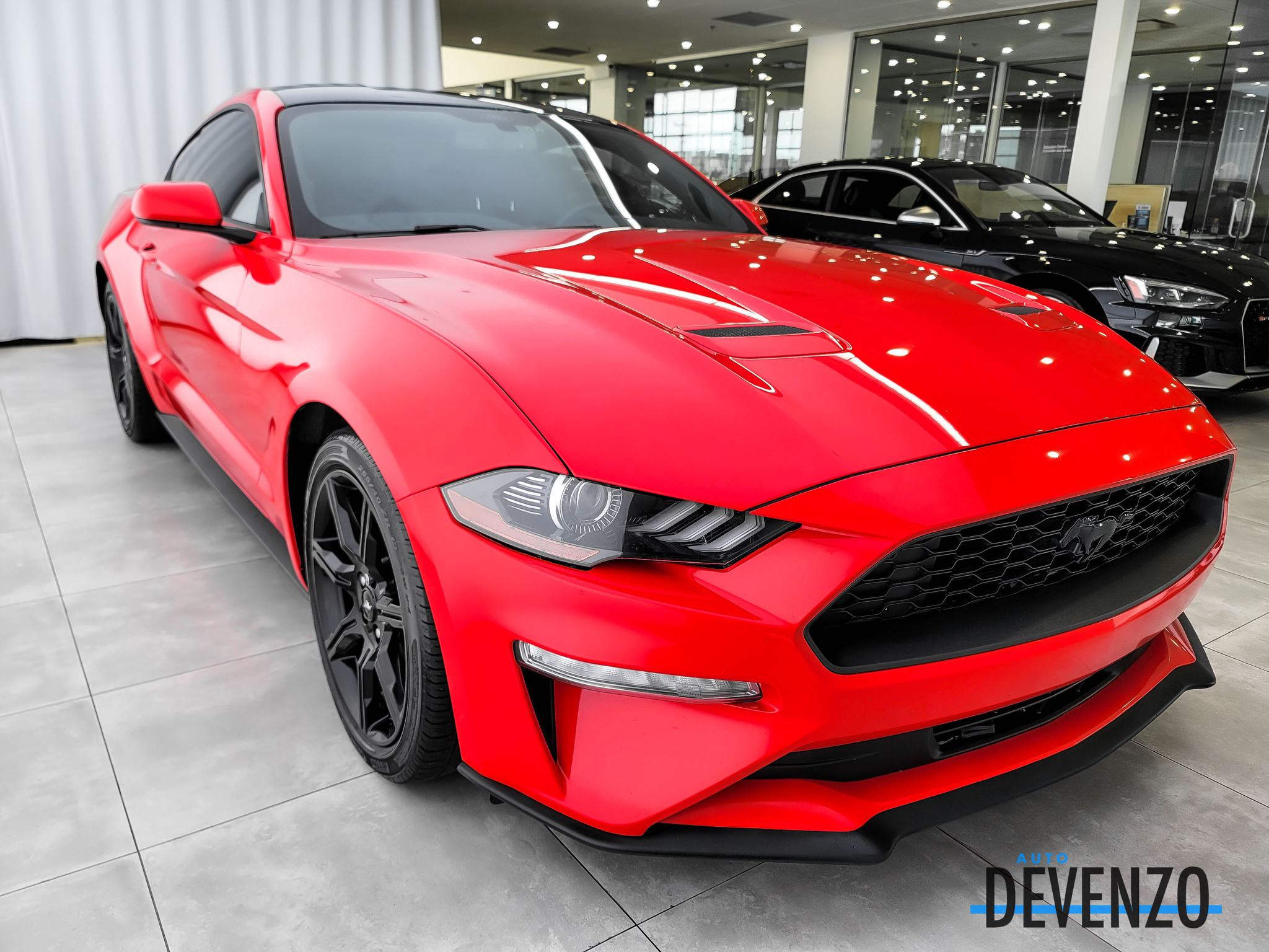 2018 Ford Mustang EcoBoost Fastback Exhaust Magnaflow Black Pack complet