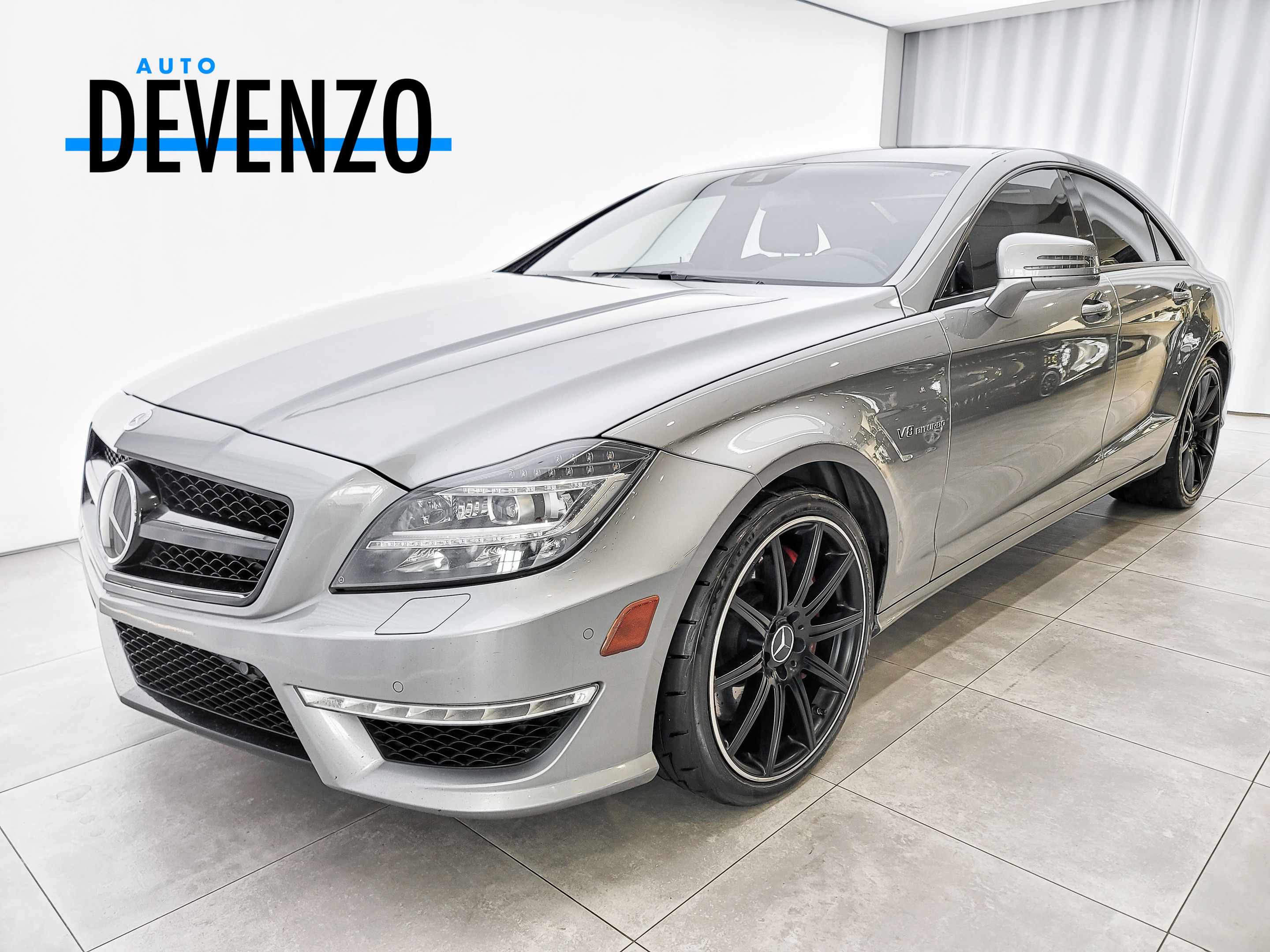 2014 Mercedes-Benz CLS-Class CLS63 AMG S-Model 577hp Distronic Cruise complet