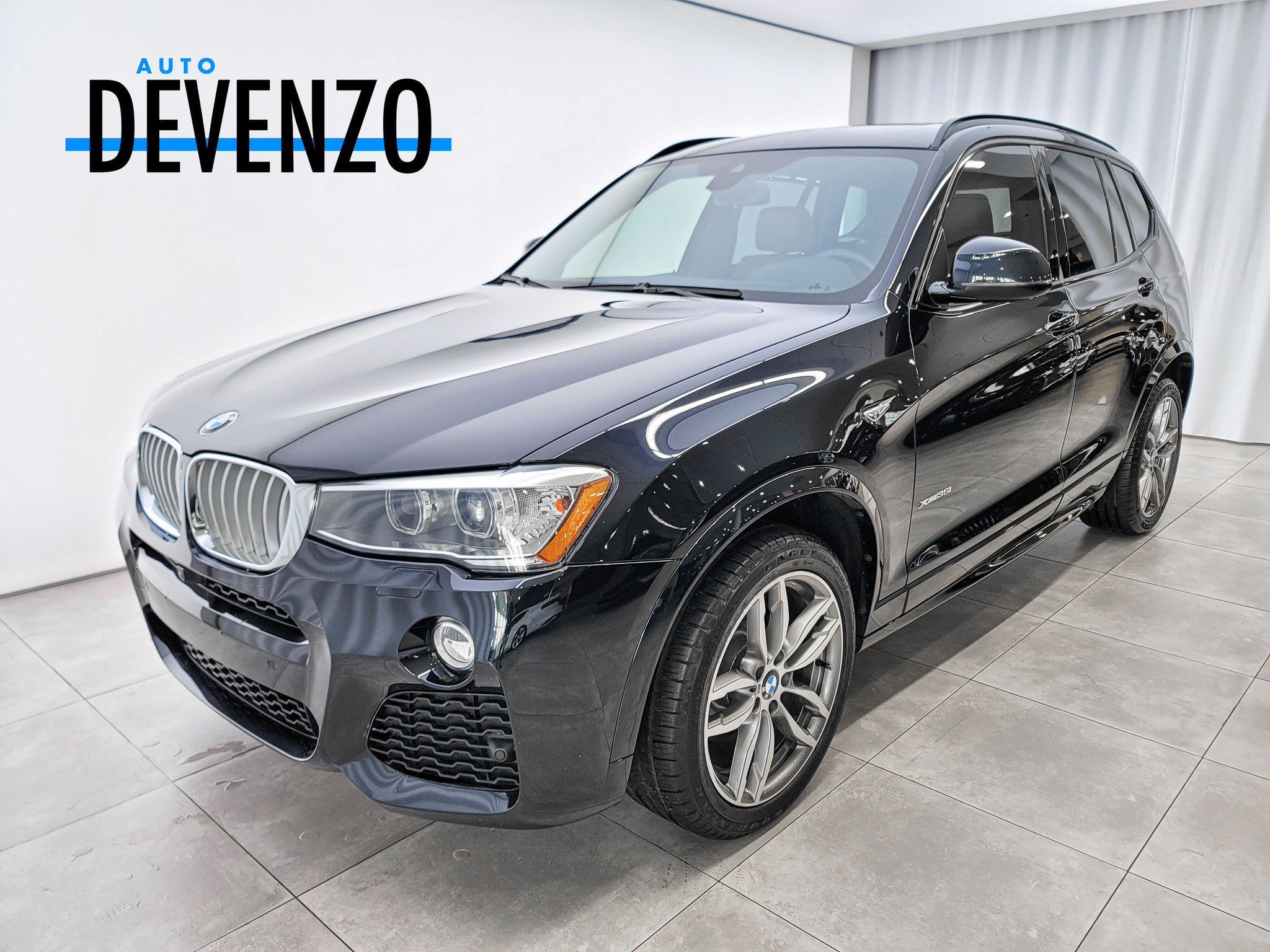 2017 BMW X3 xDrive35i M Package 300HP Twin Turbo complet