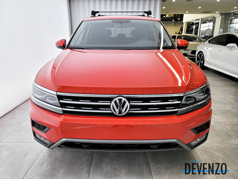 2018 Volkswagen Tiguan Highline 4MOTION Fender / Navigation / Toit Panora complet