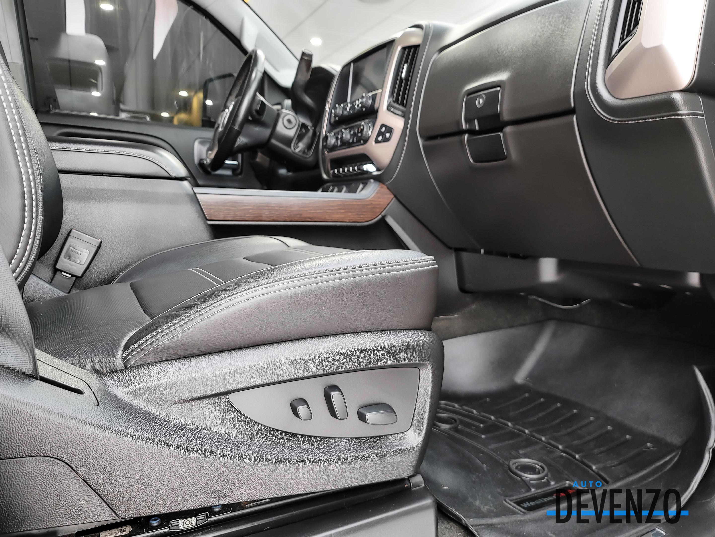 2018 GMC Sierra 3500HD 3500HD DENALI DRW 4WD DIESEL DURAMAX 445HP complet