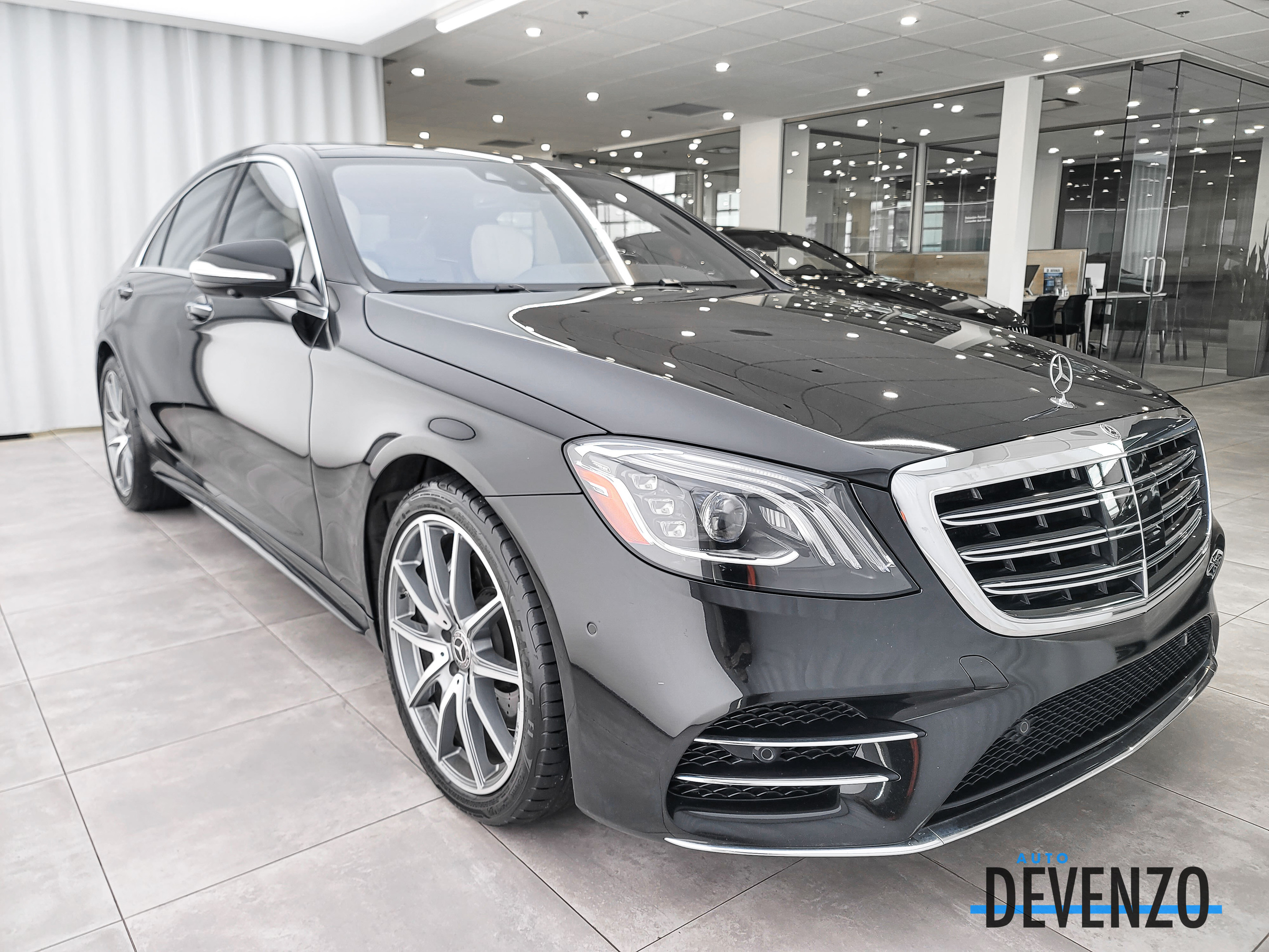 2018 Mercedes-Benz S-Class S450 4MATIC Intelligent Drive / AMG Sport Package complet