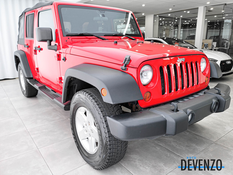 2012 Jeep WRANGLER UNLIMITED 4WD Unlimited Sport Soft Top Manuel complet