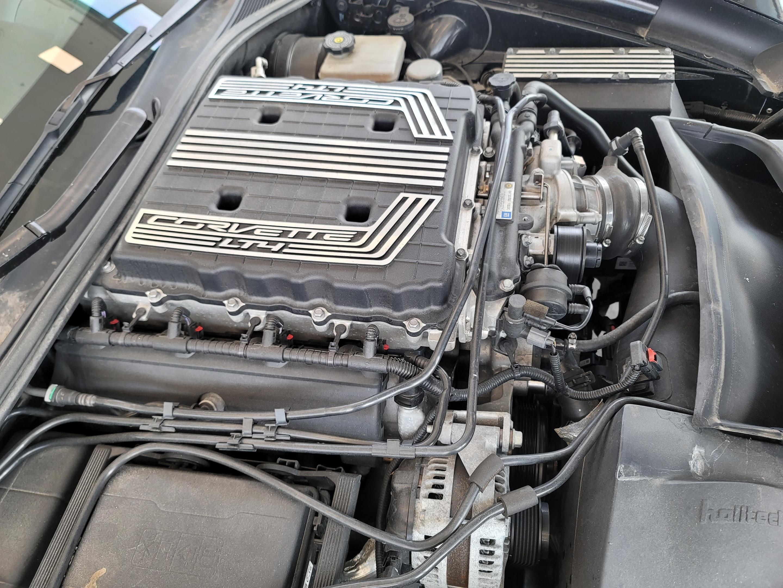 2017 Chevrolet Corvette Z06 2LZ SUPERCHARGED 800HP complet
