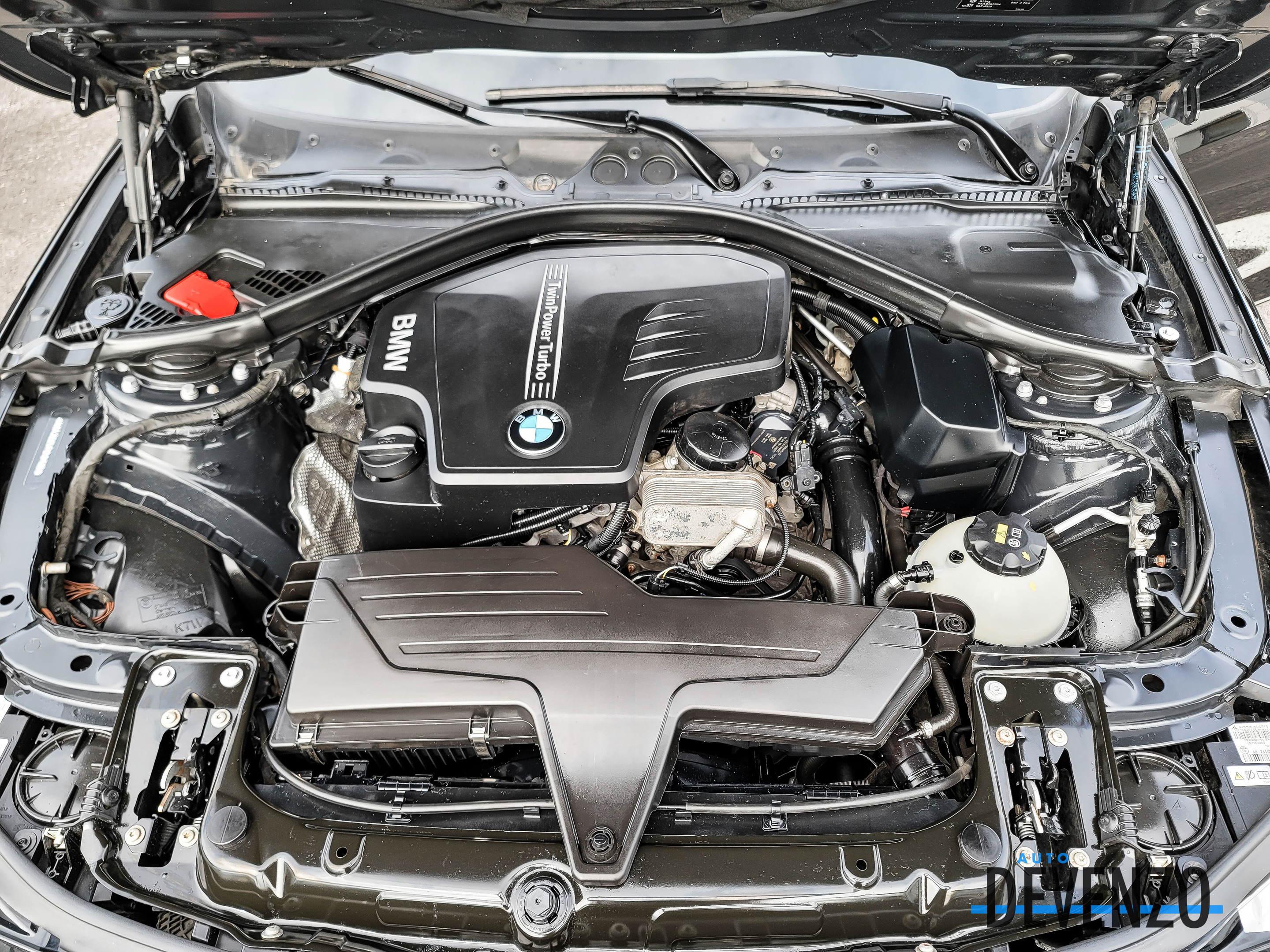 2015 BMW 4 Series Coupe 428i xDrive AWD Sport Line Cuir Rouge complet