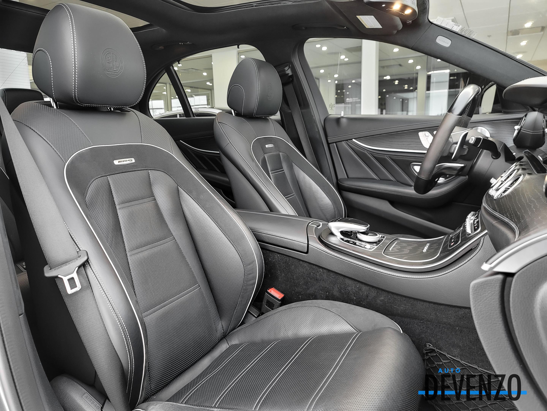 2018 Mercedes-Benz E-Class AMG E63 S 4MATIC DESIGNO GREY MATT / INTELLIGENT complet