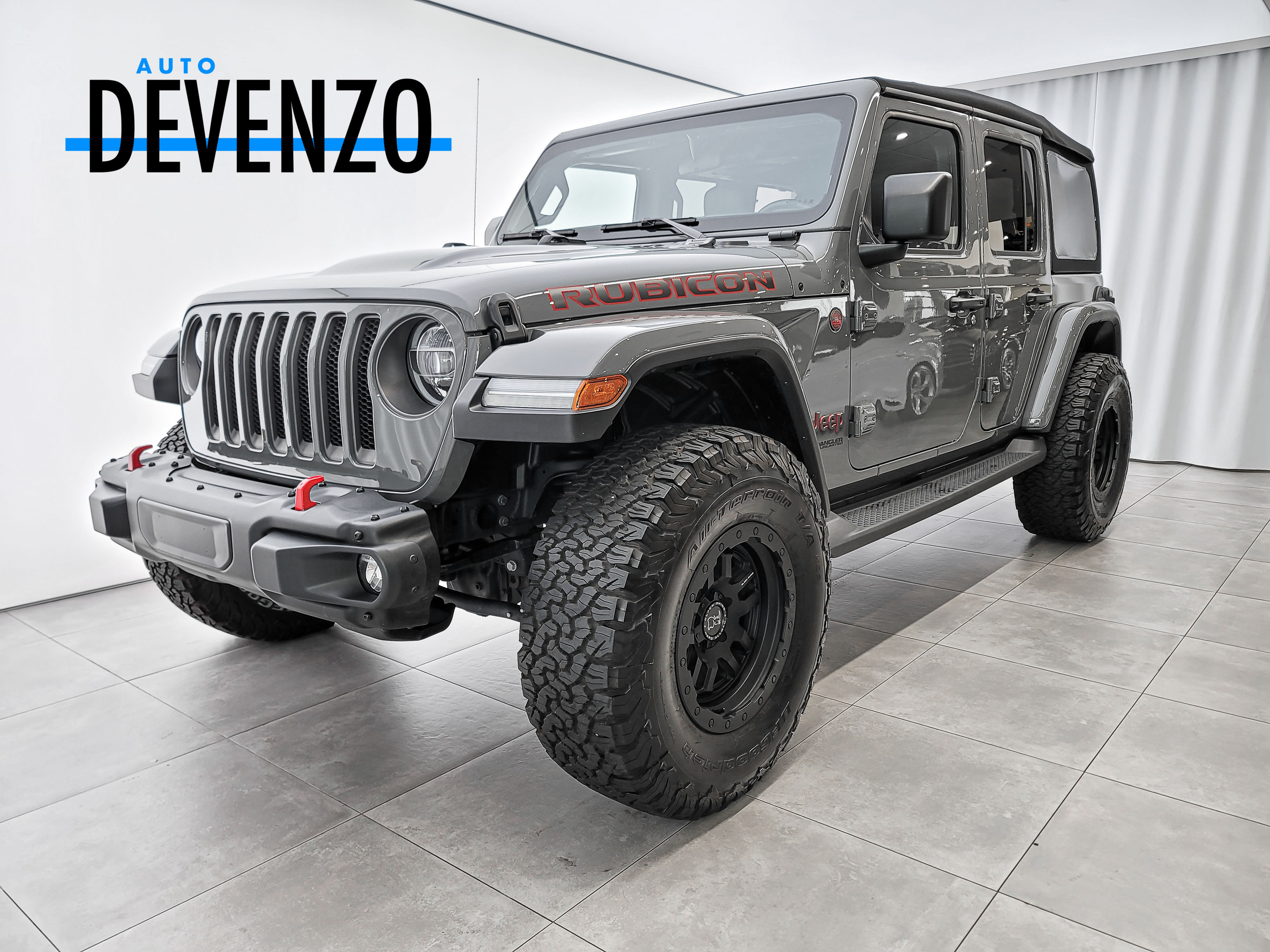 2021 Jeep Wrangler Unlimited Rubicon 4×4 2.0L 2 TOITS complet