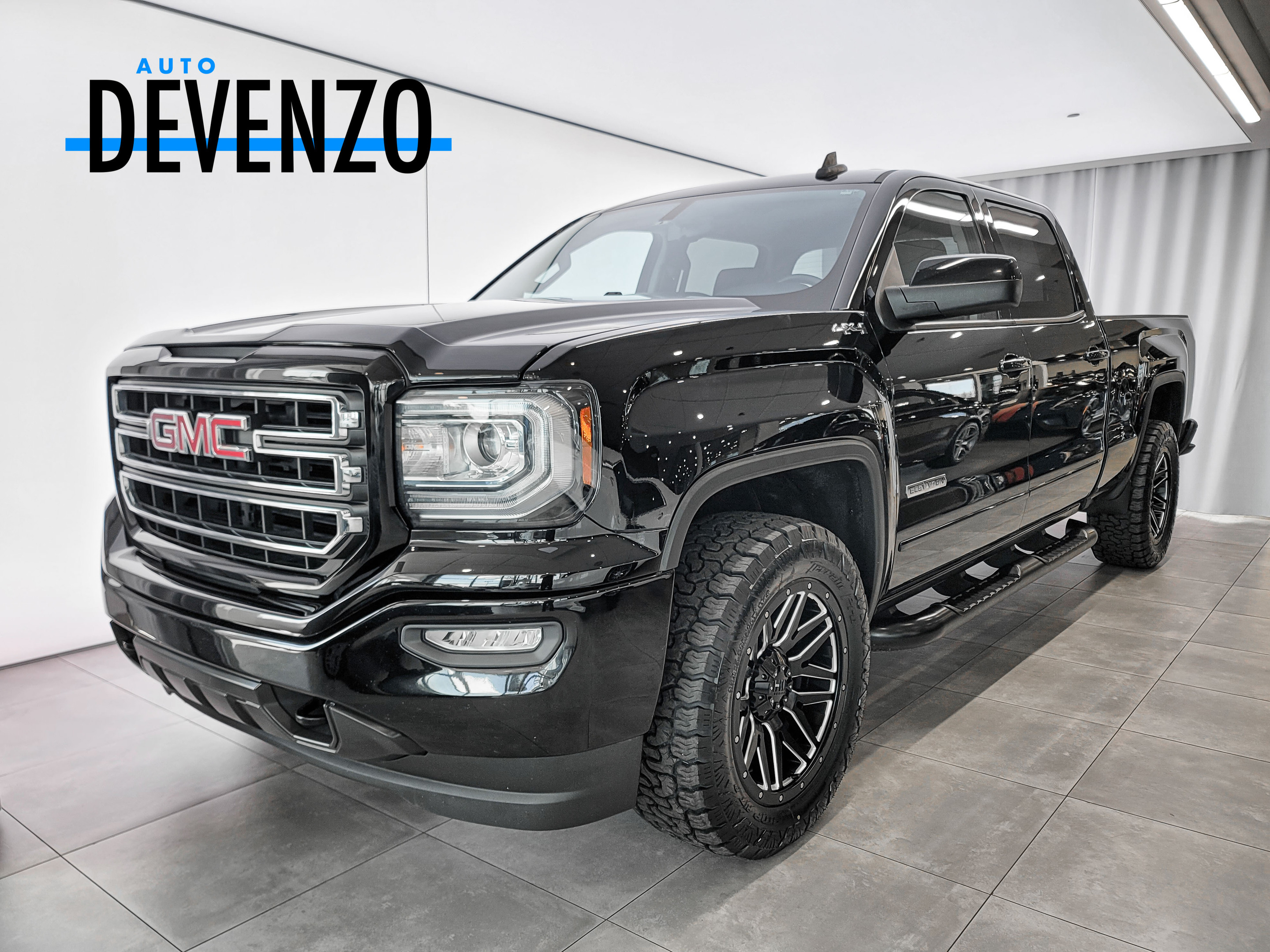 2017 GMC Sierra 1500 4WD CREW CAB 153.0 SLE 5.3L ELEVATION complet