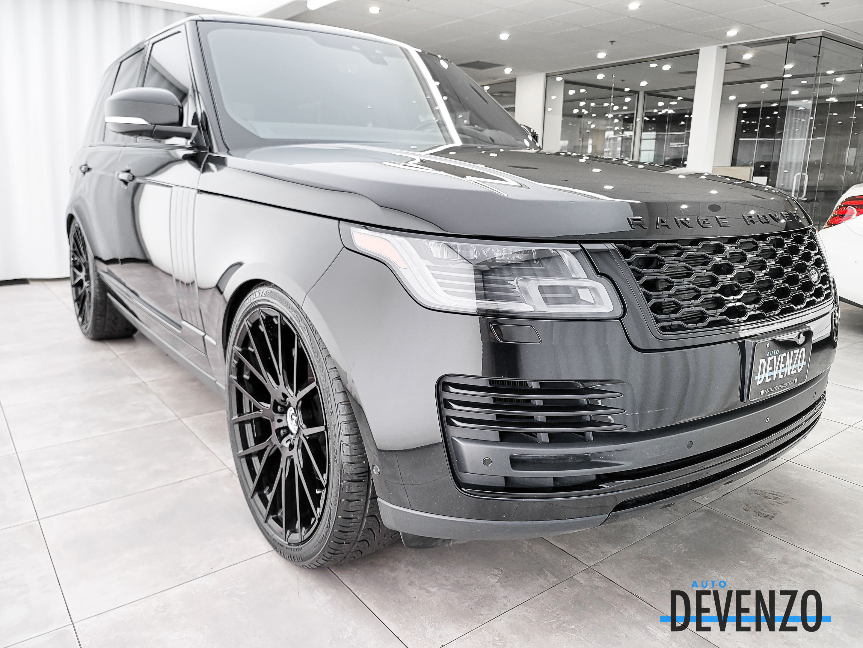 2018 Land Rover Range Rover V8 Supercharged SWB Drive Pro Pack / TV/DVD / 22» complet
