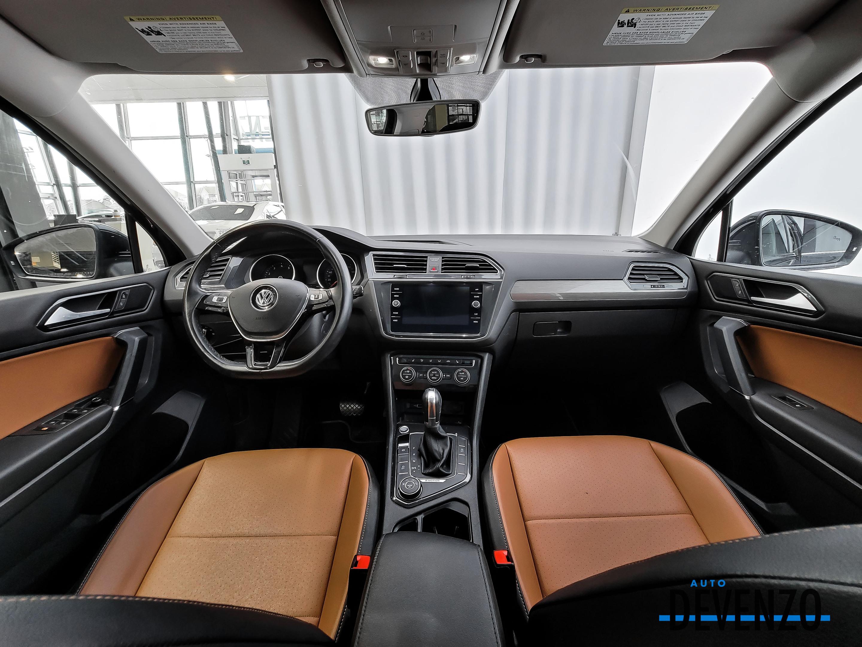 2018 Volkswagen Tiguan Comfortline 4MOTION Cuir Brun / Toit Panoramique complet