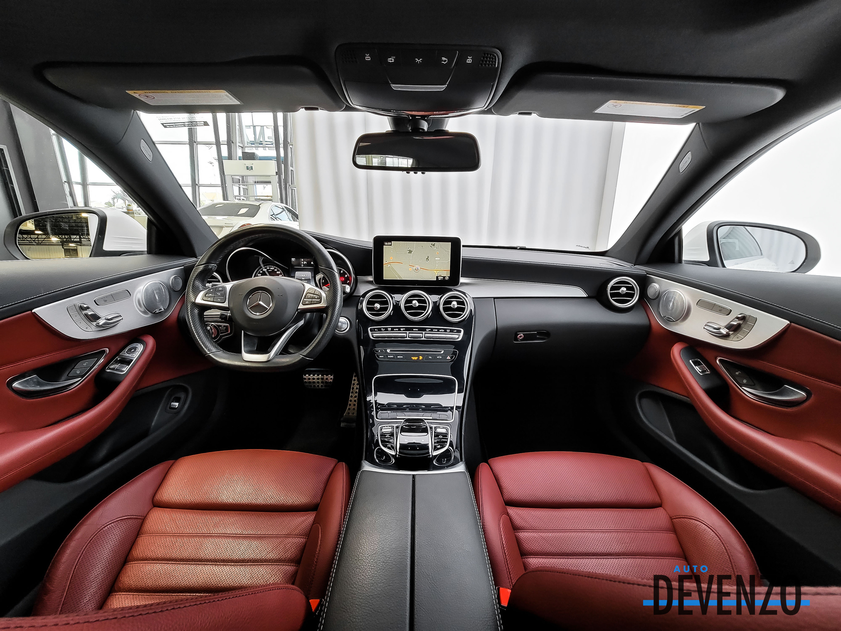 2017 Mercedes-Benz C-Class COUPE C300 4MATIC AMG SPORT PACKAGE complet