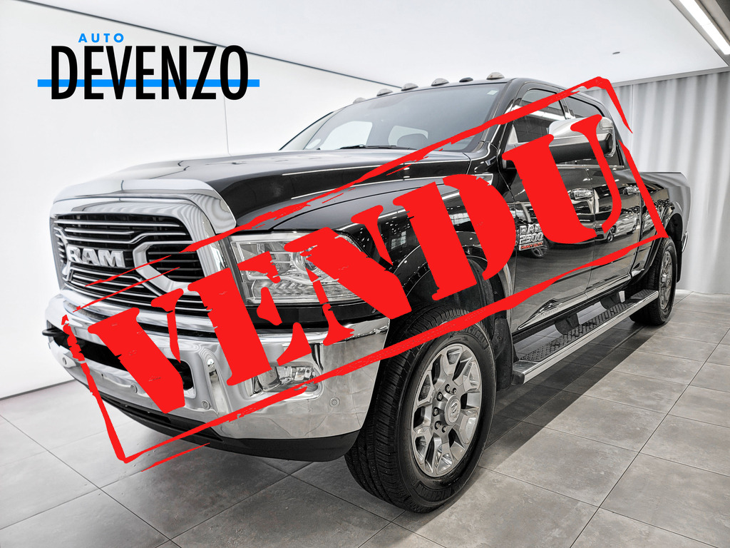 2017 Ram 2500 4WD Crew Cab LIMITED Diesel 6.7L  Boite 6.4» complet