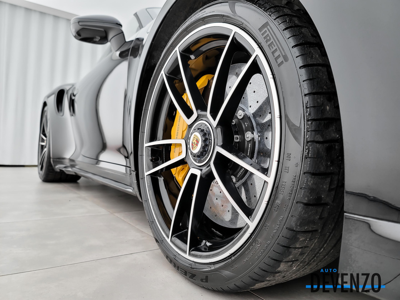 2021 Porsche 911 Turbo S Cabriolet 640HP PDK Sport Exhaust complet