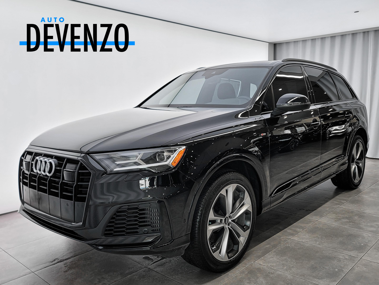2020 Audi Q7 Progressiv 55 Quattro S-LINE Black Optics Package complet