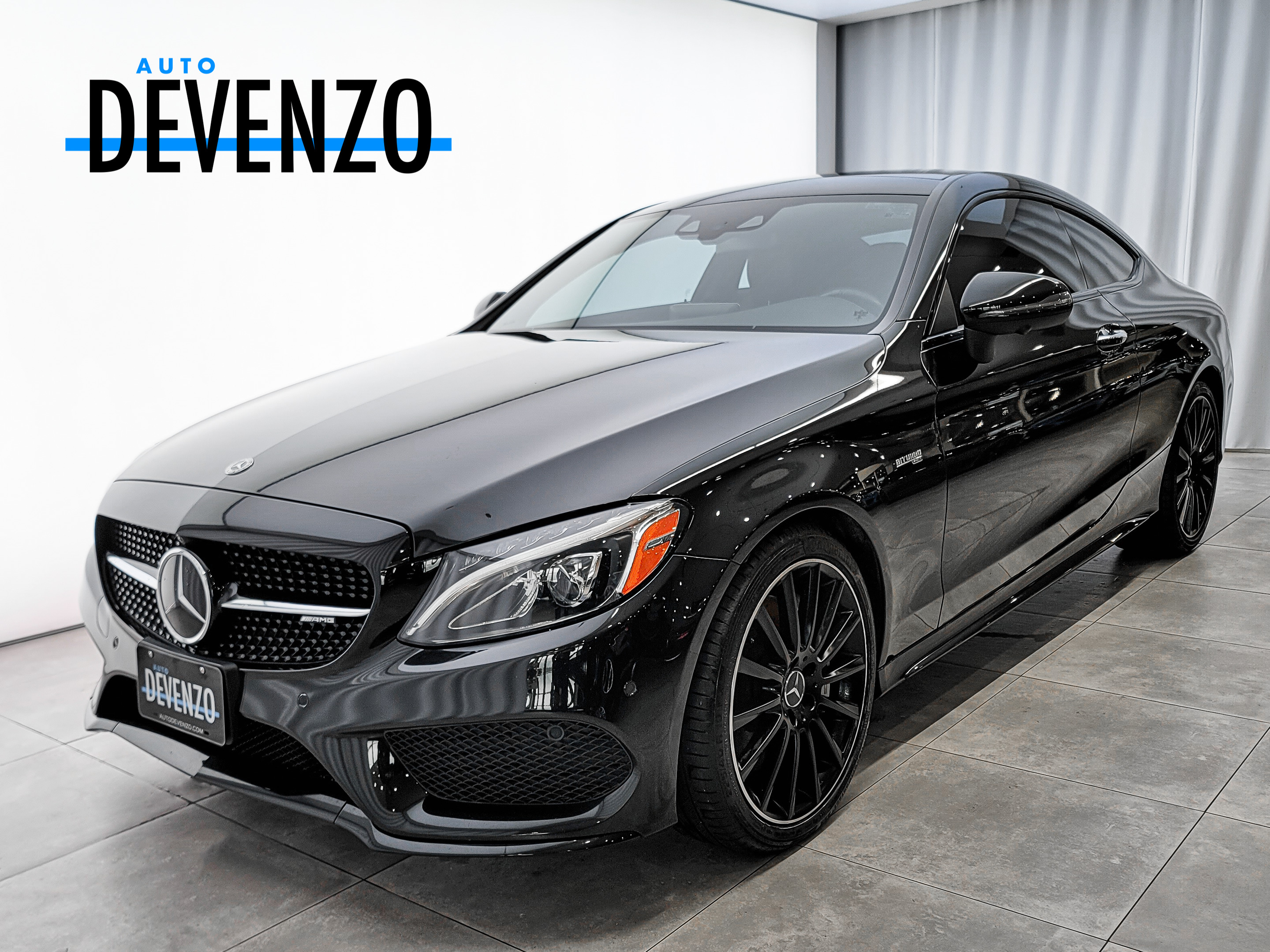 2018 Mercedes-Benz C-Class AMG C43 4MATIC Coupe Intelligent Drive / Night Pk complet
