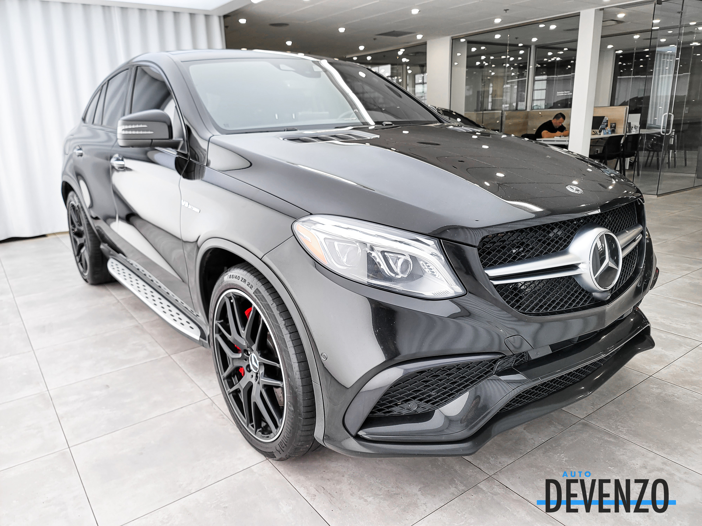 2018 Mercedes-Benz GLE-Class AMG GLE63 S 4MATIC Coupe Intelligent Drive complet
