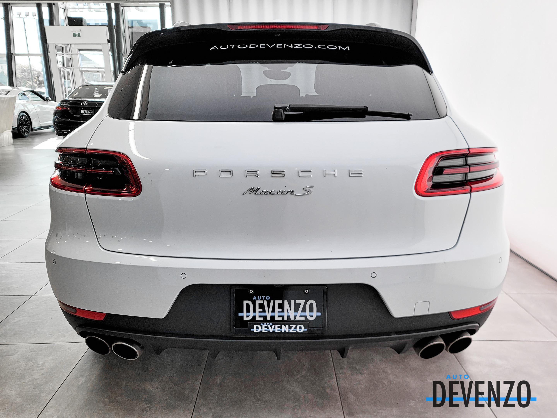 2018 Porsche Macan S AWD 340HP PREMIUM PLUS complet